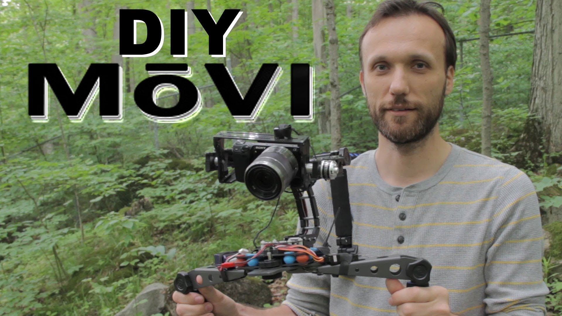Build your own DIY Digital Stabilized Camera Gimbal
