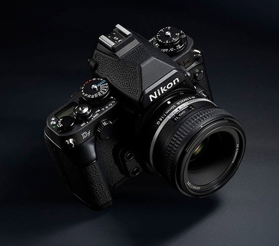 Hands on with the Nikon DF