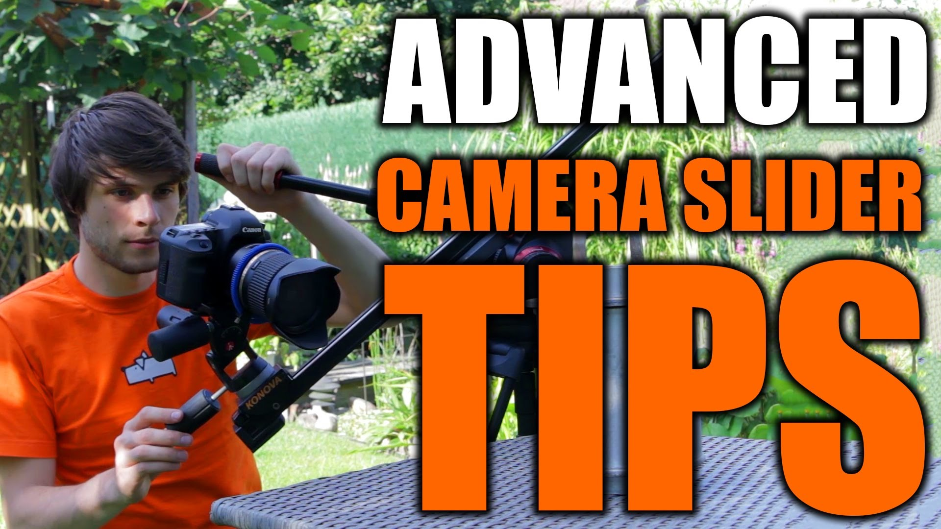10 Tips for Using a Camera Slider