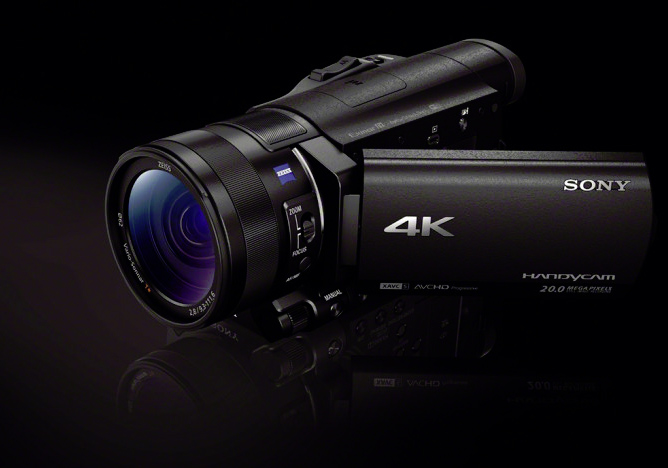 sony fdr ax100 4k super camcorder 4k in the palm of your hand. Black Bedroom Furniture Sets. Home Design Ideas