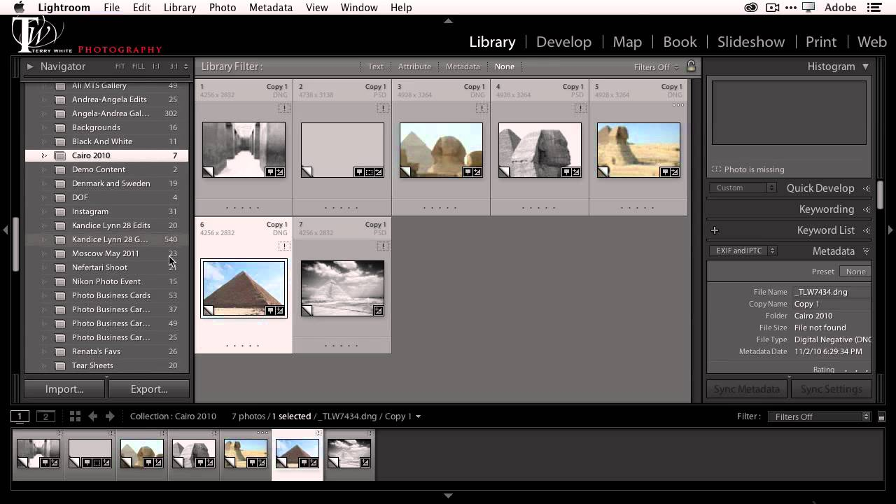 how to combine multiple lightroom catalogs into one