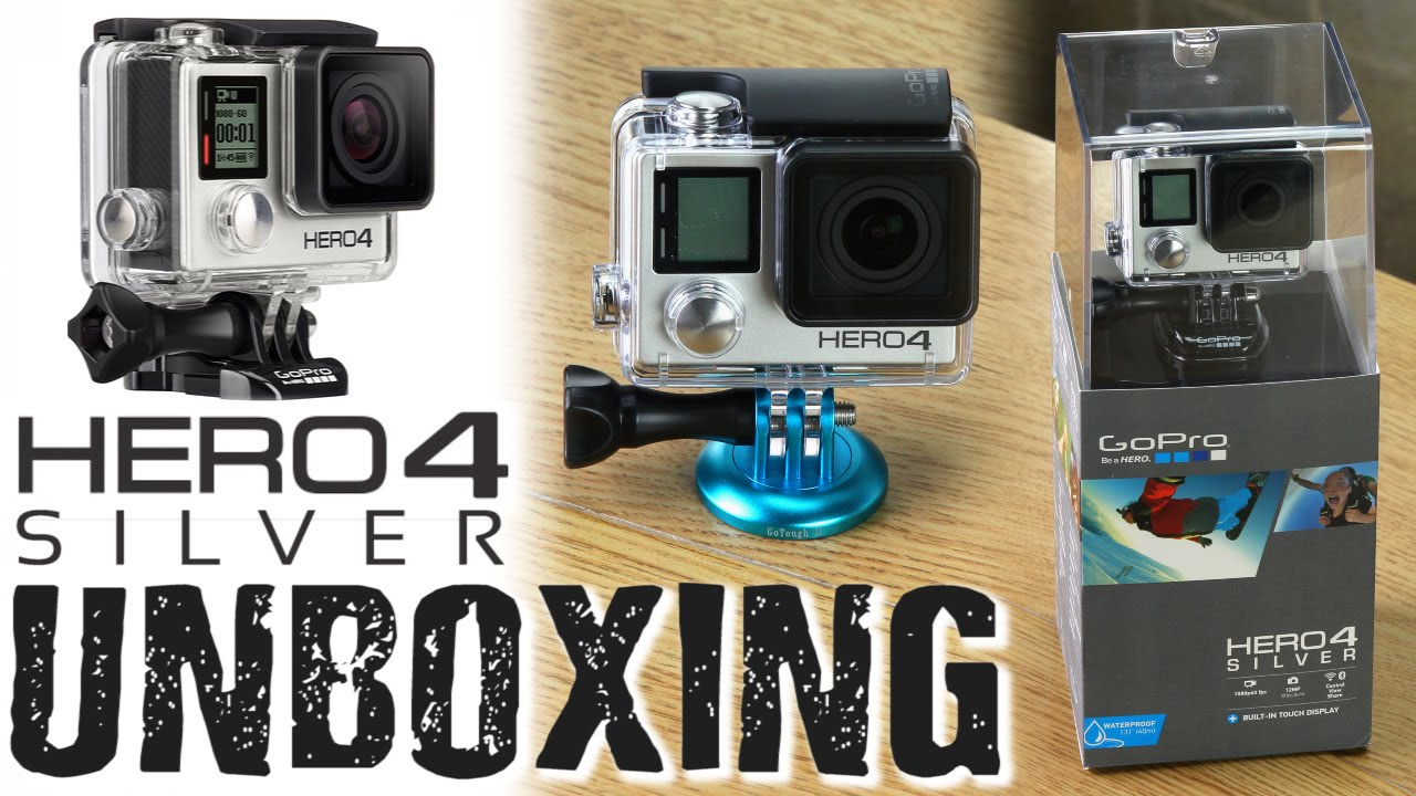 GoPro HERO 4 Silver Unboxing + Fotodiox Accessories ...  Gopro