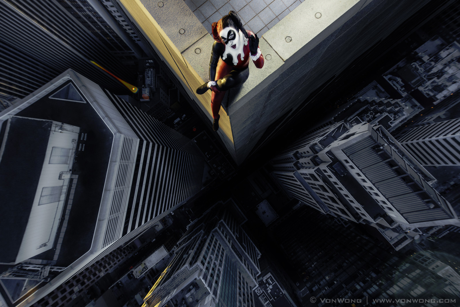 Superheroes-On-The-Edge-Of-A-Skyscraper