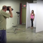 How to Shoot Studio Portrait with One Light & White Wall