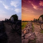 Add Dramatic Color using Photoshop Camera RAW