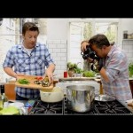Jamie Oliver and David Loftus Do Food Photography