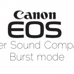 Comparison of Canon EOS Burst Shutter Sounds
