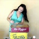 How to Create a Photo Light Box Using a Vintage Soda Crate
