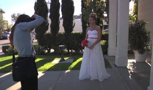 How to Pose for a Photoshoot : Posing a Bride