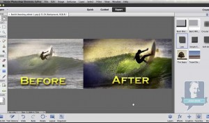 """Showcase a """"Before & After"""" in Photoshop Elements"""