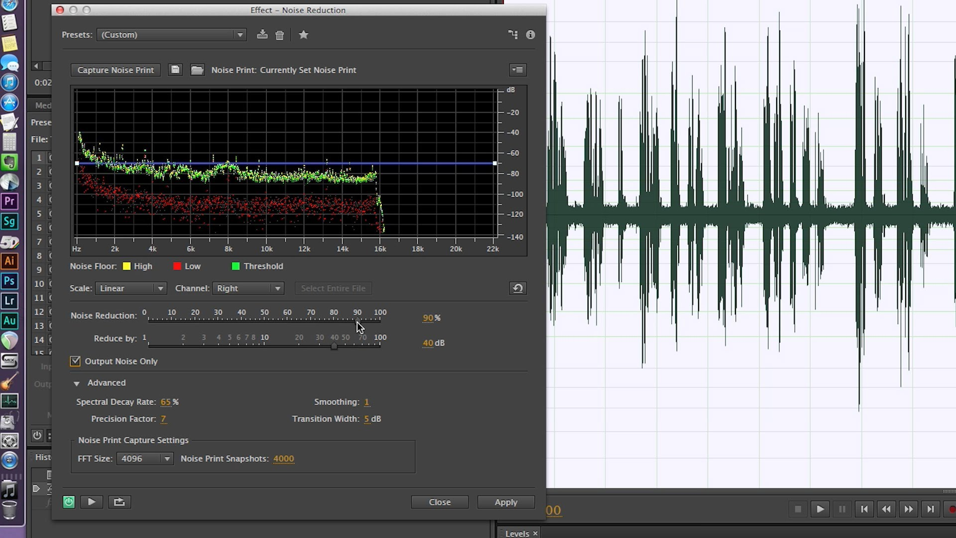 how to make rx100 audio better in premiere pro