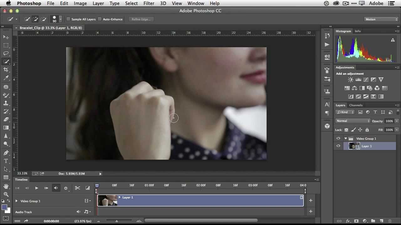 The basics of editing video in photoshop lensvidlensvid how to edit a video in photoshop baditri Images