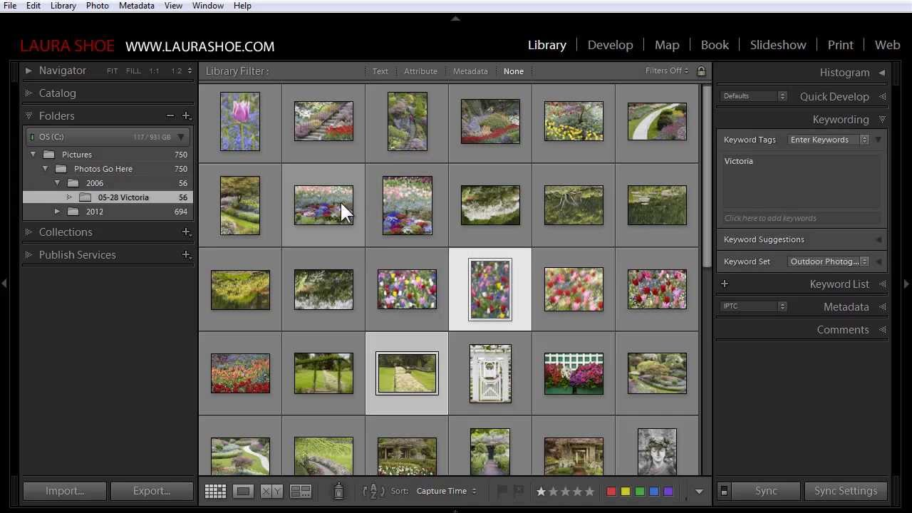 how to change scaling in lightroom