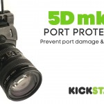 Canon EOS 5D Mark III HDMI and USB Port Protector