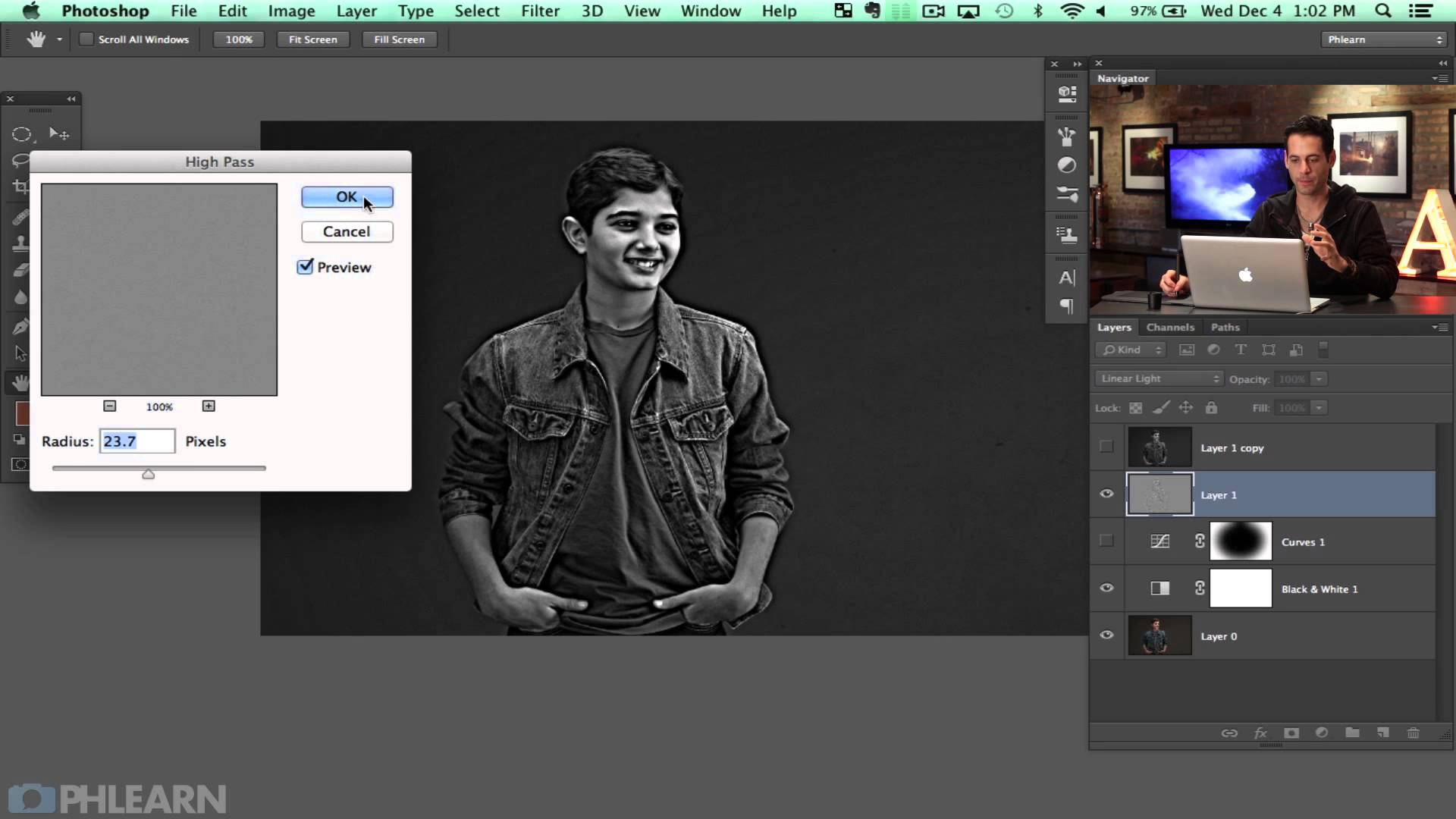 How to Stylize a Black and White Photo in Photoshop