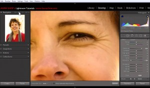 Adding Catch Lights to Eyes Using the Adjustment Brush in Lightroom