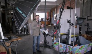 On Set with Rob Grimm- Behind the Scenes Commercial Photo Shoot