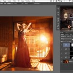 How to Create Beams of Light and Lens Flare in Photoshop