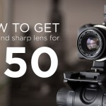 How to Get a Fast 50mm Lens for $50