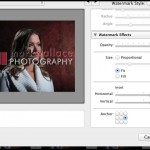 Creating Watermarks in Lightroom 5