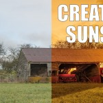 Creating Sunset with Shadows and Colors in Adobe Photoshop