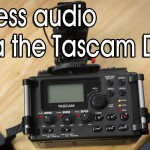 Wireless Stereo Audio with the Tascam DR-60D & Wi Audiolink