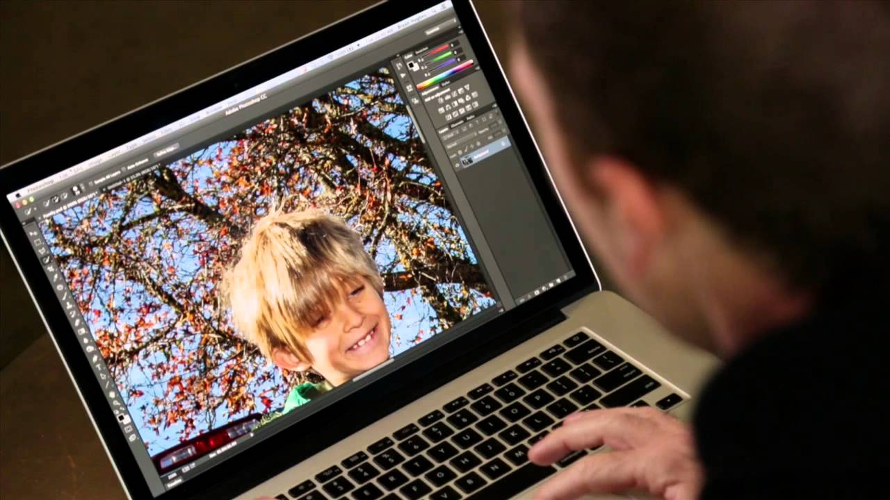 compositing in photoshop - adding people to images