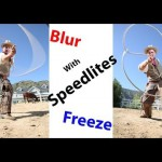 Freezing Action With Speedlites