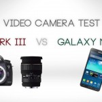 4K Galaxy NOTE 3 V.S. Canon 5D Mark III – Video Comparison