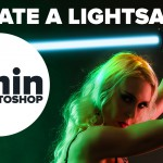 How to Create a Lightsaber in Photoshop in Under 1 Minute