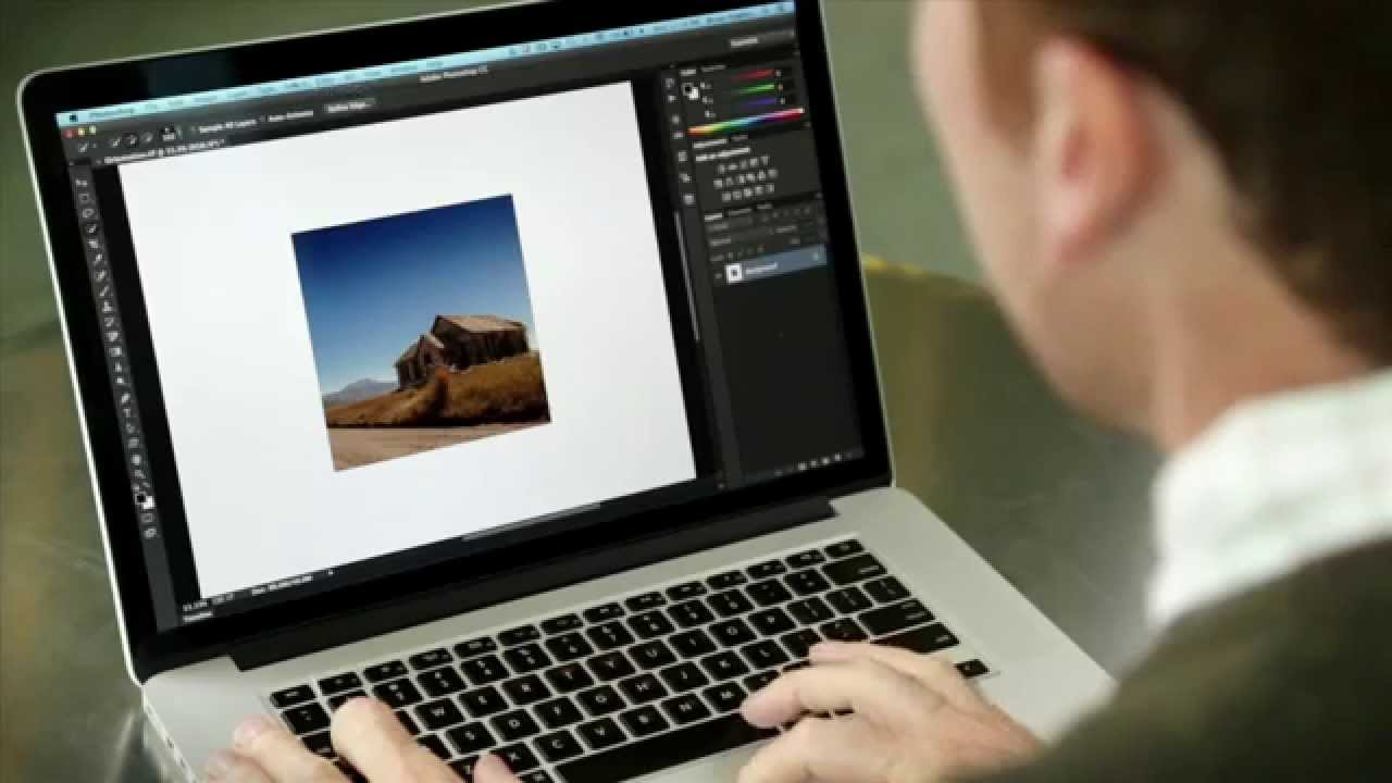Changing Orientation From Portrait to Landscape in Photoshop