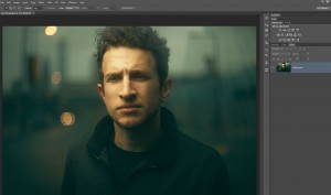 Retouch a Moody and Cinematic Portrait with Photoshop