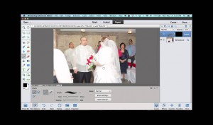 Adjusting Blown Out Whites in Photoshop Elements
