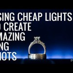 Cheap Lights for Creating Amazing Wedding Ring Shots