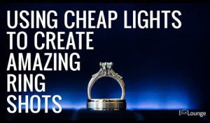 How to Use Cheap Lights to Create Amazing Ring Shots and Macro Images!