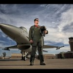Lighting an F-16 with 400 Watt Strobes