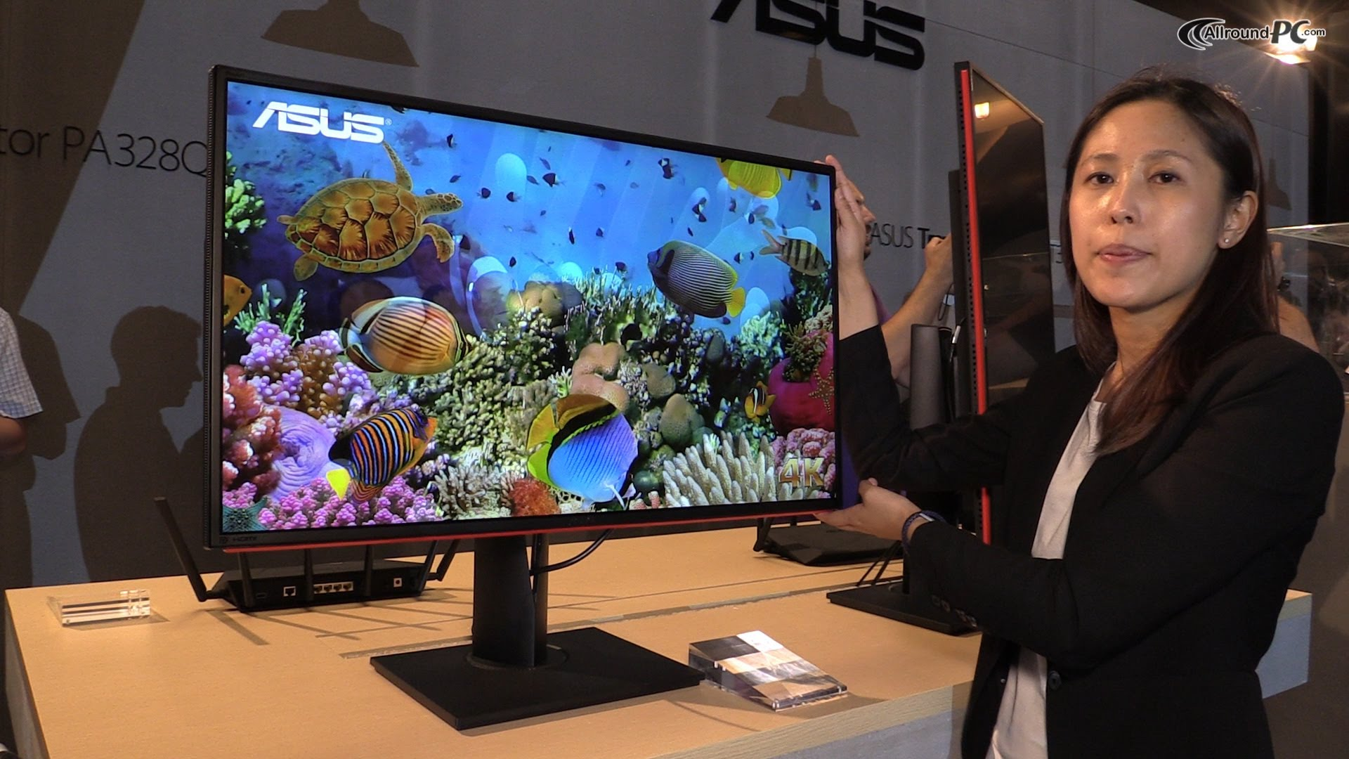 Asus ProArt PA328Q - 4K Pro Level Display Preview - LensVid