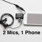 Using 2 Mics with 1 Phone for Interview Recording