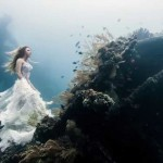 Benjamin Von Wong: 25 Meters Underwater Model Photoshoot