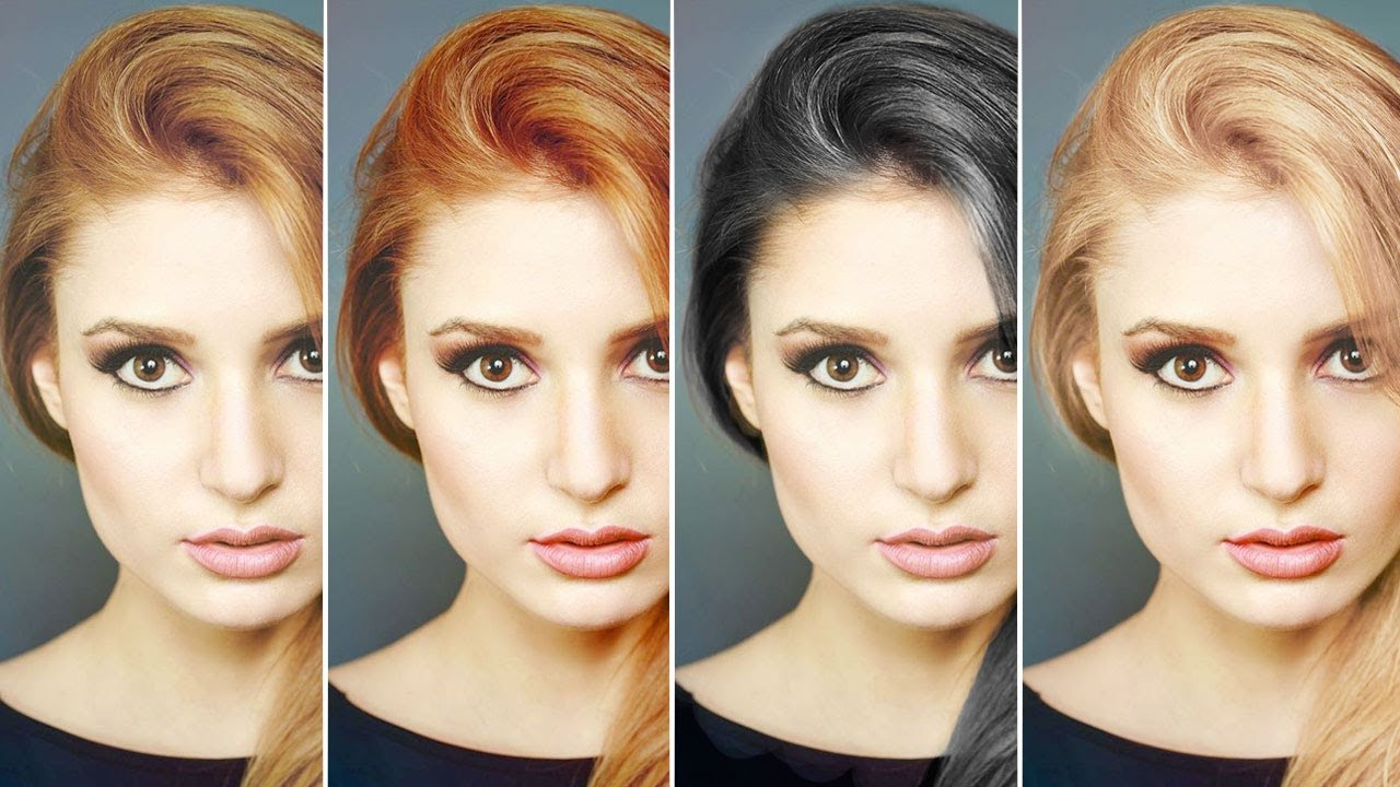 How to change hair color in photoshop lensvidlensvid ccuart Images