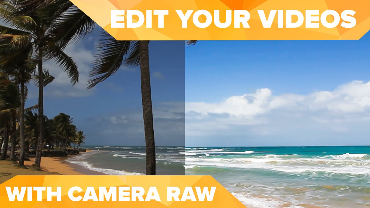 Edit Your Video Using Camera Raw In Photoshop