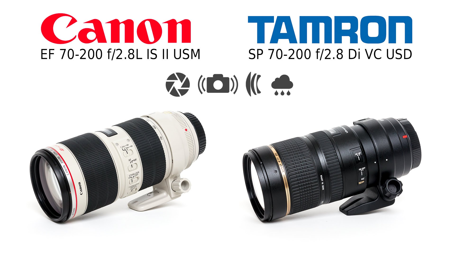 Lens Review: Tamron 70-200 f/2.8 VC USD vs. Canon EF 70-200mm f/2.8L IS II USM