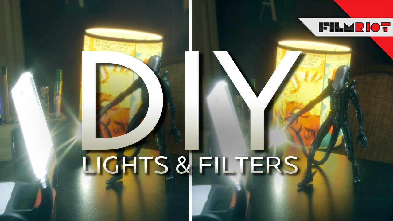 diy lights and filters