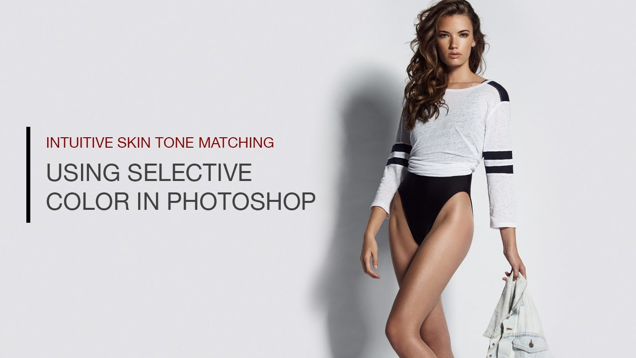 Fix color cast in photoshop -  How To Match Skin Tones Using Selective Color In Photoshop
