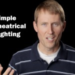 Lighting Video Theatrical Look: 2 Lights and 1 Reflector