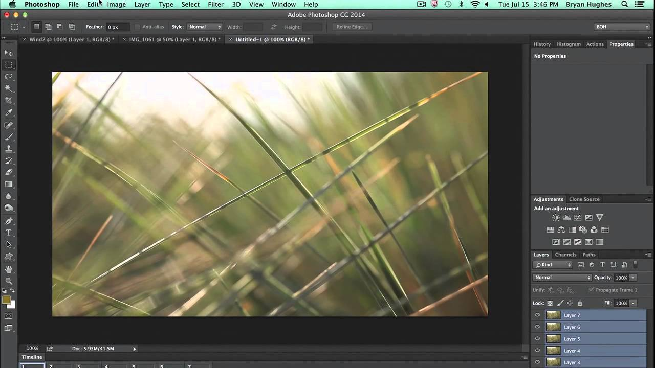 The Basics Of Editing Video In Photoshop · How To Get A Still Image From A
