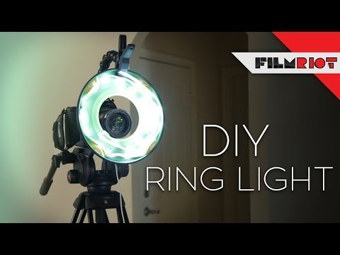 Simple DIY Ring Light (+ Tips For Adding Music To Your Videos)    LensVid.comLensVid.com