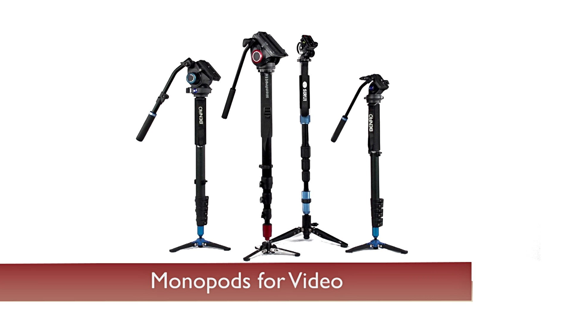 Gear Guide: Best Monopods for Video