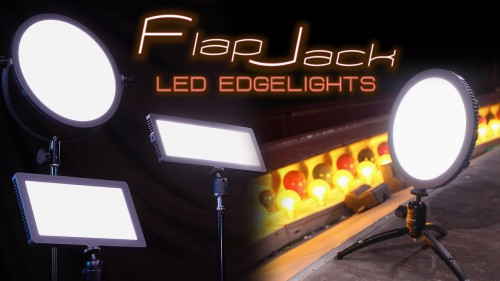 Fotodiox FlapJack Edgelights – Lightweight, Ultra Thin LED Panels