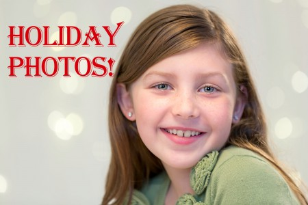 Holiday Portrait Tutorial
